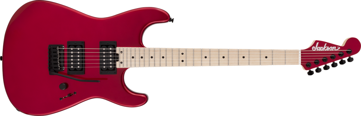 Pro Series Signature Gus G. San Dimas® Style 1, Maple Fingerboard, Candy Apple Red