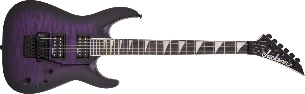 JS Series Dinky™ Arch Top JS32Q DKA, Amaranth Fingerboard, Transparent Purple Burst