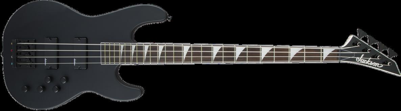 JS Series Concert™ Bass JS3, Amaranth Fingerboard, Satin Black
