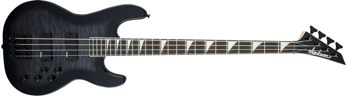 JS Series Concert™ Bass JS3Q, Rosewood Fingerboard, Transparent Black Burst