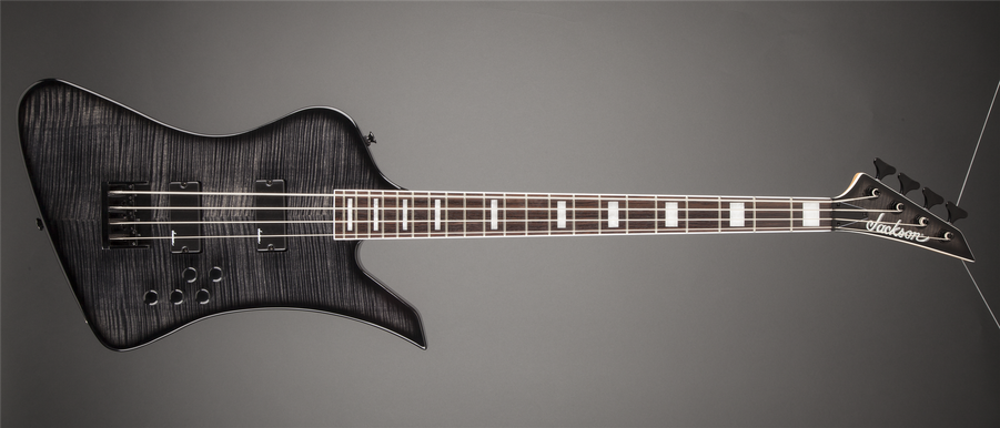 JS3 Kelly™ Bird IV, Rosewood Fingerboard, Trans Black